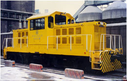 Freight Locomotives - BM8 Switcher Center Cab