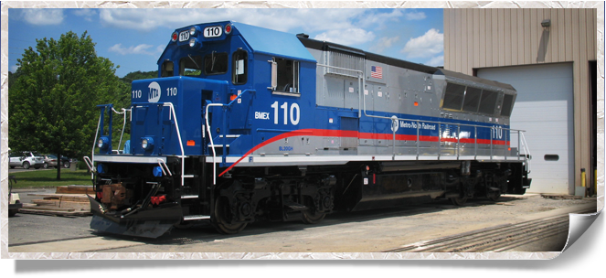 Brookville's diesel locomotive rail vehicles
