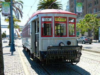steetcar, trolley, rail vehicles