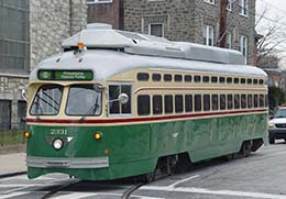 BROOKVILLE SEPTA Streetcar Restoration