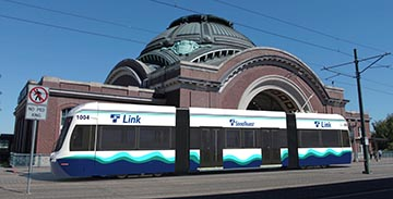 Conceptual Rendering of BROOKVILLE Liberty LRV for Sound Transit Tacoma Link